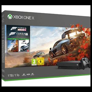 Xbox One X 1TB + Forza Horizon 4 y Forza Motorsport 7