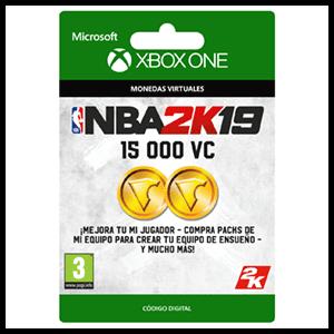NBA 2K19 15.000 VC XONE