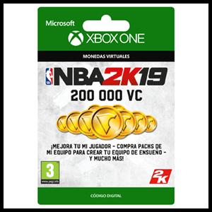 NBA 2K19 200.000 VC XONE