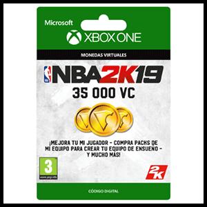 NBA 2K19 35.000 VC XONE