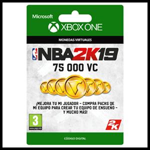 NBA 2K19 75.000 VC XONE