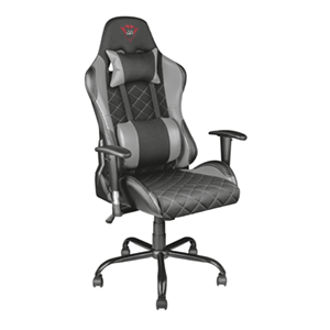 Trust GXT 707G Resto Gaming Chair Gris Tela - Silla Gaming