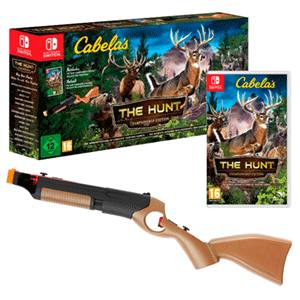 Cabela's The Hunt Championship Edition + Rifle Bullseye Pro