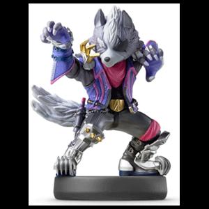 Figura amiibo Smash Wolf