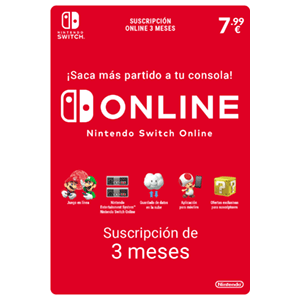 90 Días Subscripción Switch Online (Individual)