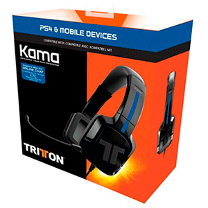Auriculares Tritton Kama + PS4-NSW-TEL