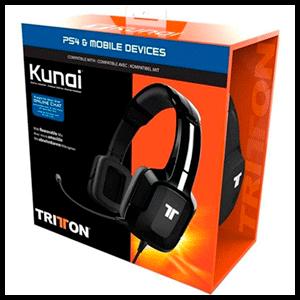 Auriculares Tritton Kunai + PS4-TEL