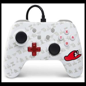 Controller con Cable PowerA Mario Odyssey -Licencia oficial-