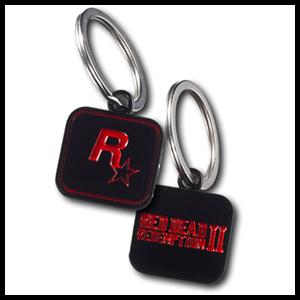Llavero Red Dead Redemption II Negro