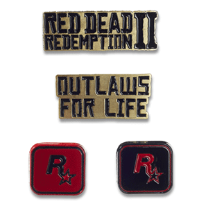 Set de Pins Red Dead Redemption II