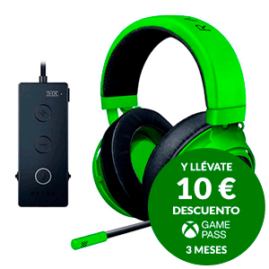 Razer Kraken Tournament Edition Verde - Auriculares Gaming