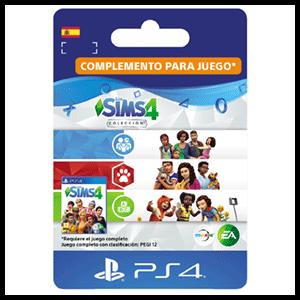 The Sims 4 Colección (Papás y Mamás + Perros y Gatos + Infantes) PS4