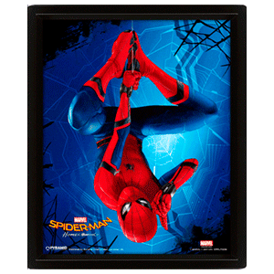 Cuadro 3D Hang Spider-Man Homecoming