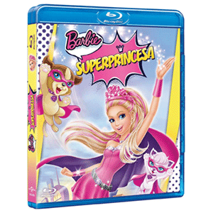 Barbie Superprincesa + Mascara