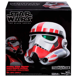Casco Star Wars Imperial Shock Trooper Black Series