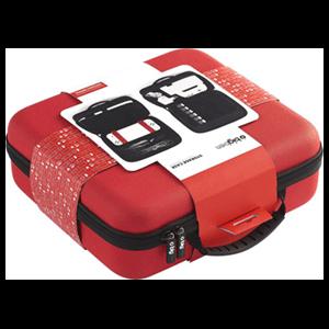 Funda Maletín Semirrígida Roja para Nintendo Switch y Accesorios