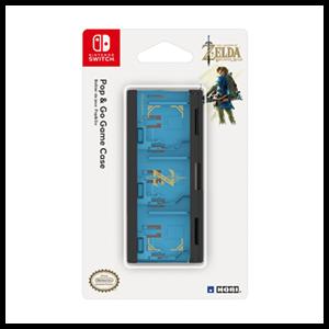 Caja para 6 Juegos Nintendo Switch Hori Zelda -Licencia oficial-