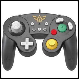 Controller con Cable Hori Zelda Ed. Super Smash Bros -Licencia oficial-