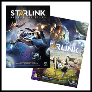 Póster doble cara Starlink