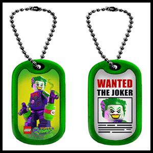 LEGO DC Súper Villanos - Chapa