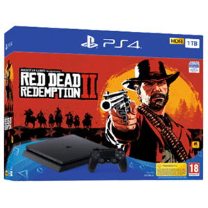 Playstation 4 Slim 1Tb + Red Dead Redemption II