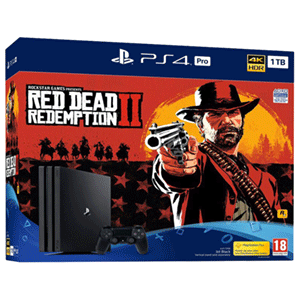 Playstation 4 Pro 1Tb + Red Dead Redemption II
