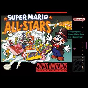 Lienzo Super Nintendo: Super Mario All-Stars