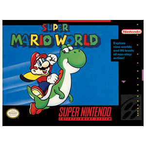 Lienzo Super Nintendo: Super Mario World