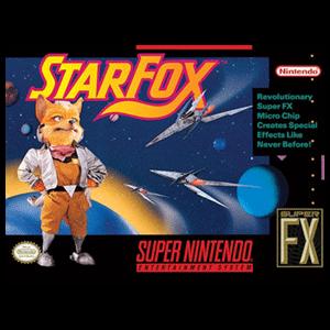 Lienzo Super Nintendo: Starfox