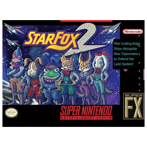 Lienzo Super Nintendo: Starfox 2