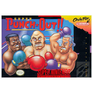 Lienzo Super Nintendo: Super Punch-Out