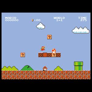 Lienzo Super Mario