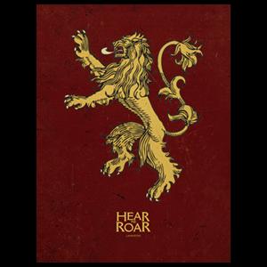 Lienzo Juego de Tronos: Lannister