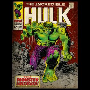 Lienzo Marvel: Hulk Retro
