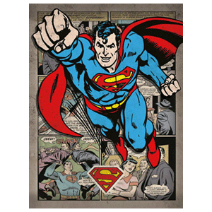 Lienzo DC: Superman Comic