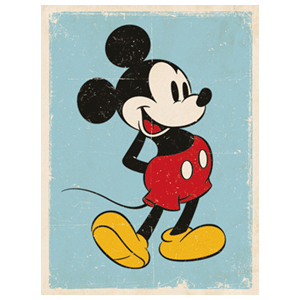 Lienzo Disney: Mickey