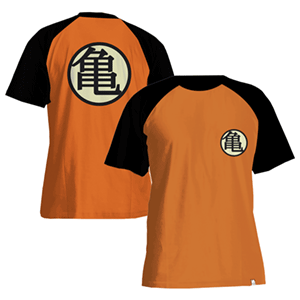 Camiseta Dragon Ball Símbolo Kame Talla S