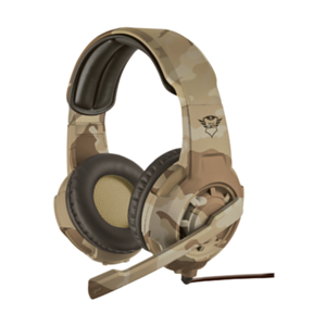 Trust GXT 310D Radius Desert Camo PC-PS4-XONE-SWITCH-MOVIL - Auriculares Gaming