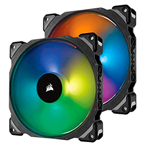 Corsair ML140 DUAL PACK PRO RGB LED PWM - Ventilador 140mm