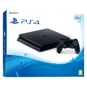 Playstation 4 Slim 500Gb Negra Chassis F