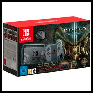 Nintendo Switch Gris Edición Limitada Diablo III
