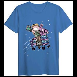 Camiseta Llama con Sorbete Fortnite M