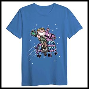 Camiseta Llama con Sorbete Fortnite XL
