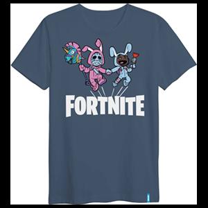 "Camiseta Llama ""Best Friends Forever"" Fortnite L"