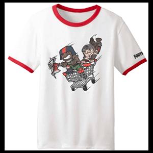 "Camiseta ""Carrito"" Fortnite S"