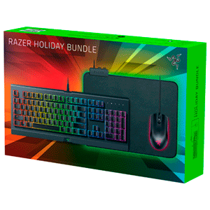 Razer Holiday Bundle Teclado+Ratón+Alfombrilla RGB - Pack Gaming