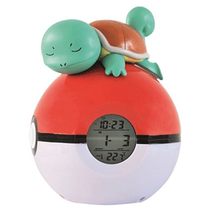 Reloj Despertador Pokemon Squirtle