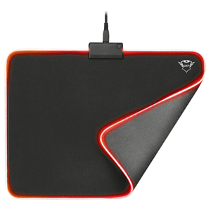 Trust GXT 762 Glide-Flex Iluminated Tela RGB - Alfombrilla Gaming