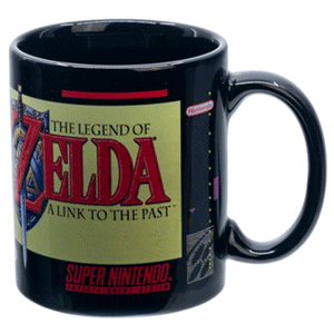 Taza The Legend of Zelda: Cartucho A Link to the Past