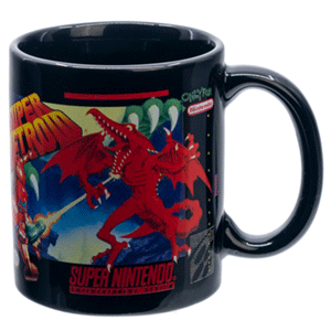 Taza SNES: Super Metroid 320ml